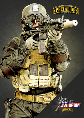 Plakat 25 lat GROM, SPECIAL OPS WS